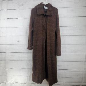Belvedere Wool  Knit Duster Cardigan